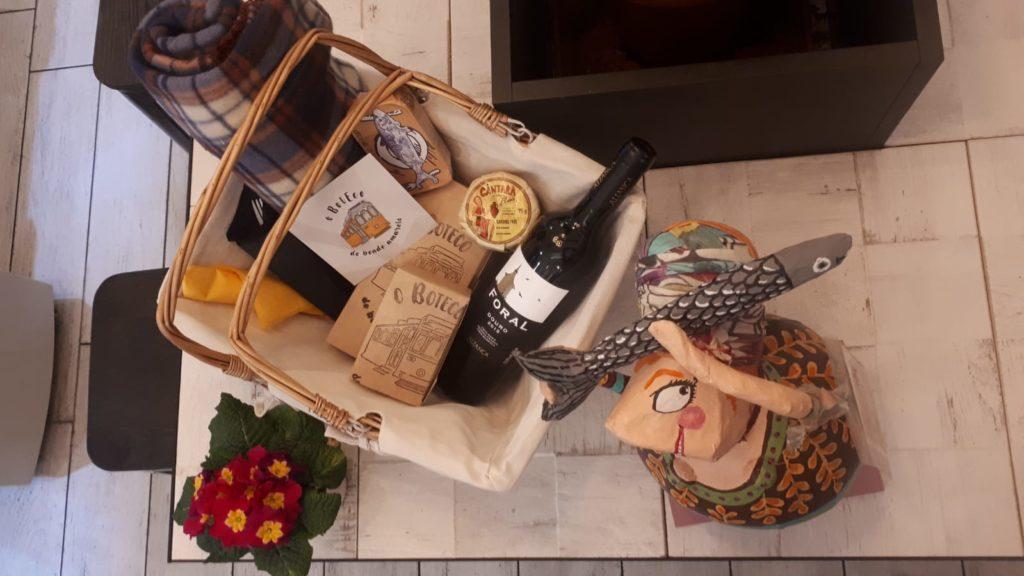 Un esempio di nostro cestino da picnic (Lidia non inclusa)