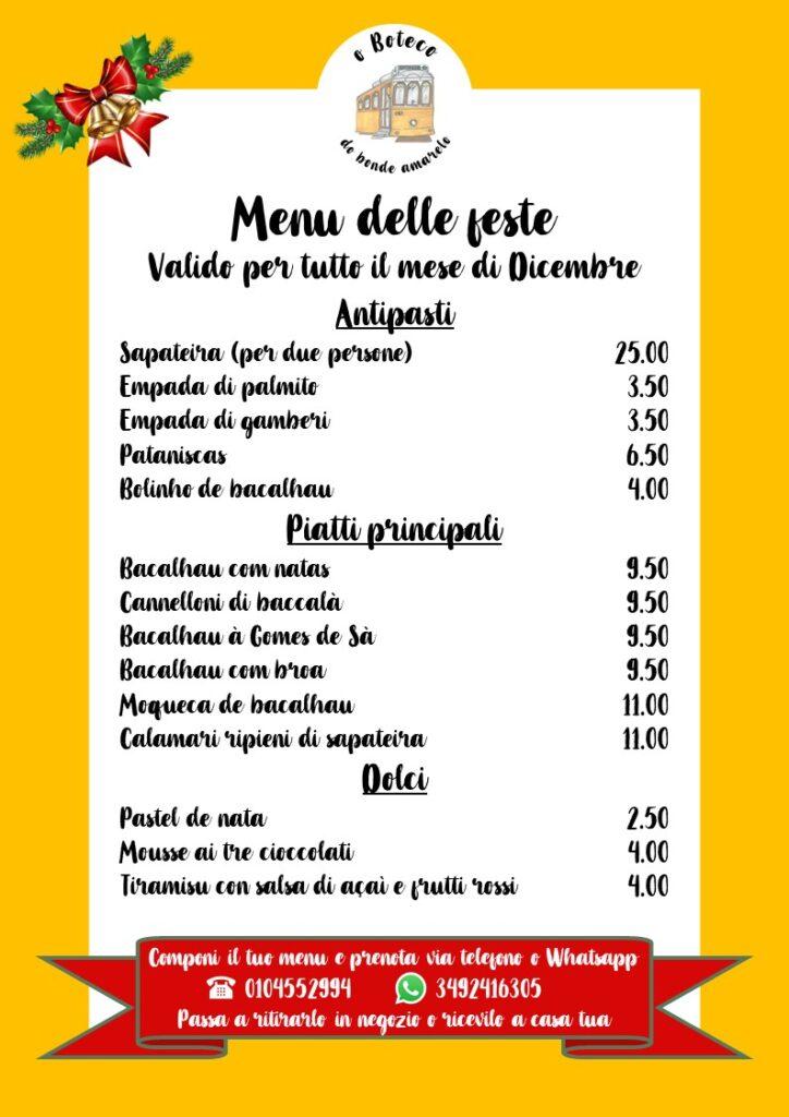 menu di natale, menu delle feste inverno 2020, baccalà, piatti tipici portoghesi